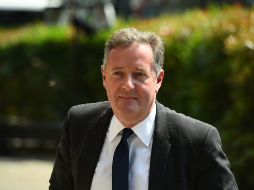 Piers Morgan has said he has been invited by Donald Trump to interview him inside the White House (Kirsty O'Connor/PA)