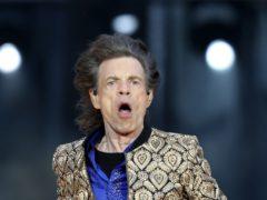 Sir Mick Jagger on stage (Jane Barlow/PA)