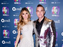 Ayda Field and Robbie Williams are leaving The X Factor (Ian West/PA)