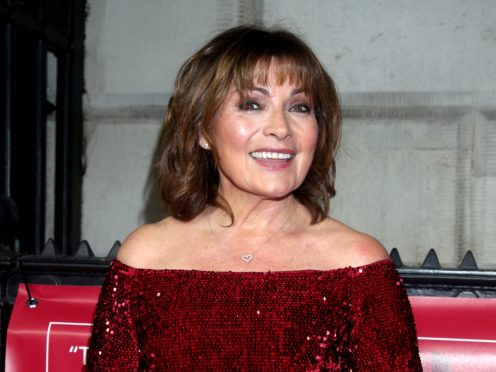 Lorraine Kelly says she would be too scared to have surgery (Yui Mok/PA)