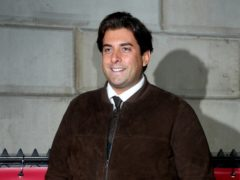 James Argent will take part in the Race For Life. (Yui Mok/PA)