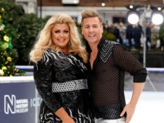 Gemma Collins and Matt Evers were paired for Dancing On Ice (David Parry/PA)