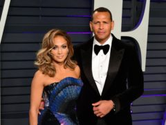 Jennifer Lopez is engaged to Alex Rodriguez (Ian West/PA)