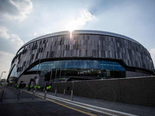 Tottenham will play their first official game at their new stadium on Wednesday when they welcome Crystal Palace in the Premier League. (Steve Paston/PA)