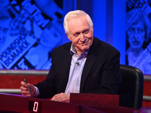 David Dimbleby shared an amusing exchange with Stacey Dooley (Mark Allan/Hat Trick Productions/PA)