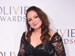 Gloria Estefan at the Olivier Awards at the Royal Albert Hall in London.