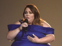 Chrissy Metz on stage at the ACM awards (Chris Pizzello/AP)
