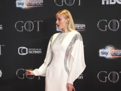 Sophie Turner said she became 'very self-conscious' after receiving criticism on social media (Liam McBurney/PA)