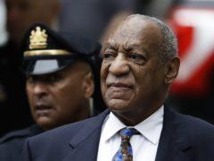 Bill Cosby arrives for his sentencing hearing (Matt Slocum/AP)