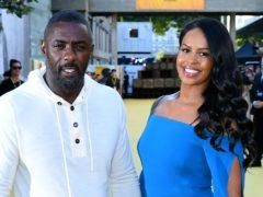 Idris Elba and Sabrina Dhowre (Ian West/PA)