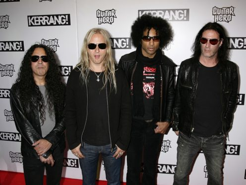 Alice In Chains at the Kerrang! Awards in London (Yui Mok/PA)
