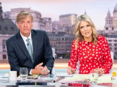 Richard Madeley said sorry to viewers for his tan (Ken McKay/ITV/Shutterstock)