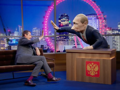 Alastair Campbell on the new chat show (BBC)