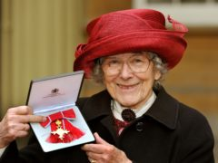 Judith Kerr with her OBE medal (John Stillwell/PA)