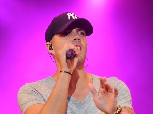 Max George formerly of The Wanted (Joe Giddens/PA)