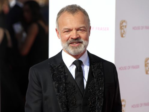 Graham Norton last hosted the TV Baftas in 2016 (Jonathan Brady/PA)