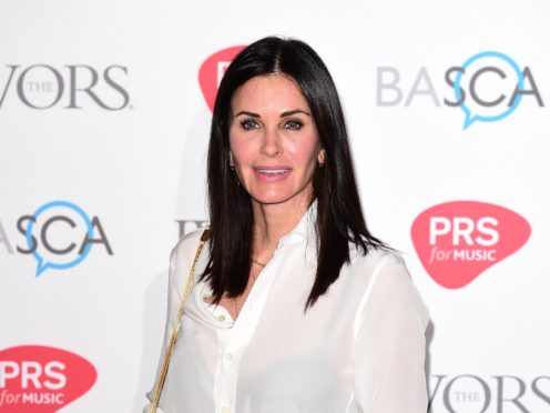 Courteney Cox shared a Friends throwback from before the revered sitcom aired (Ian West/PA Wire)