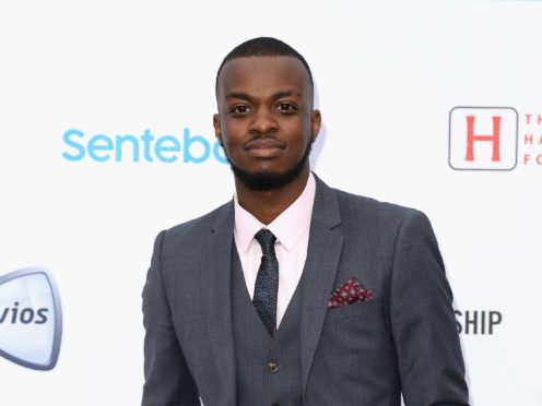 Spoken word artist George The Poet won the main prize at the British Podcast Awards (Jeff Spicer/PA)