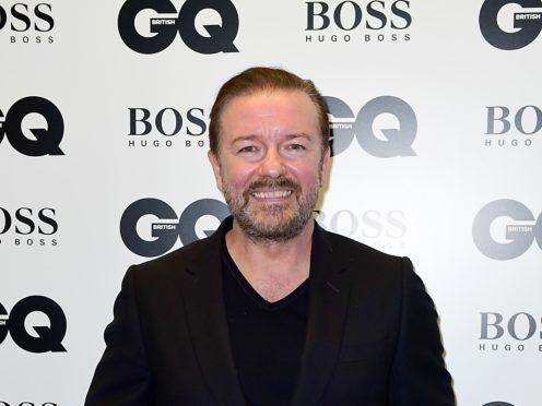 Ricky Gervais (Ian West/PA)
