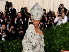 A who's who of the celebrity world will gather in New York City for the annual Met Gala (Ian West/PA)