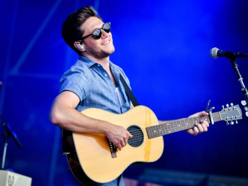 Niall Horan has been feuding with Leeds for some time (Ben Birchall/PA)