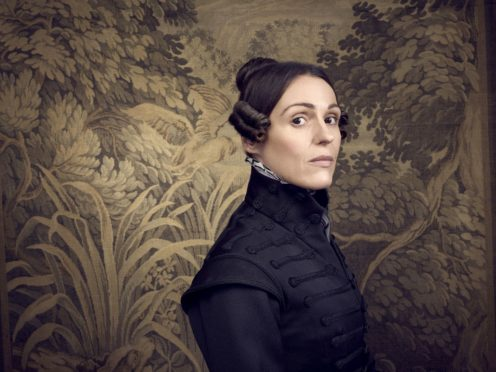 Suranne Jones as the character Anne Lister (Jay Brooks/BBC One/PA)