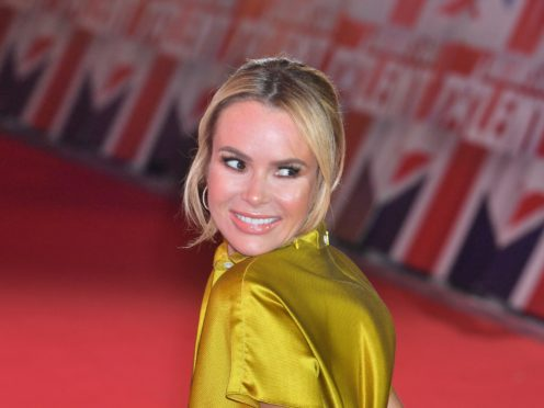 Amanda Holden apologised after her slip of the tongue (John Stillwell/PA)