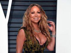 Mariah Carey was honoured at The Ivors. (PA)