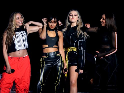 Little Mix picked up a Change Makers award (Isabel Infantes/PA)