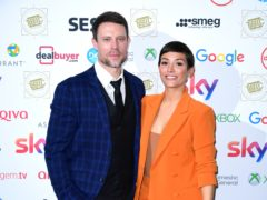 Wayne Bridge and wife Frankie (Ian West/PA)