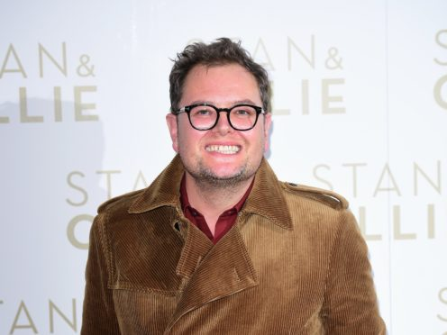 Alan Carr has spoken about his marriage (Ian West/PA)