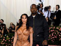Kim Kardashian and Kanye West's surrogate is in labour (Jennifer Graylock/PA)