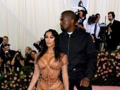 Kim Kardashian West dedicated a sweet post to Kanye West ahead of their fifth wedding anniversary (Jennifer Graylock/PA)