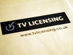 The BBC has consulted on the free TV licence for over-75s (Andy Hepburn/PA)