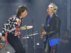 Sir Mick Jagger and Keith Richards of The Rolling Stones (Mark Allan/AP)