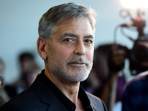 George Clooney (Ian West/PA)