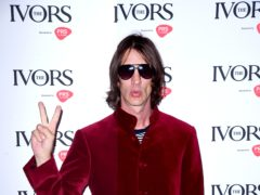 Richard Ashcroft during the annual Ivor Novello songwriting awards at Grosvenor House in London. (Ian West/PA)