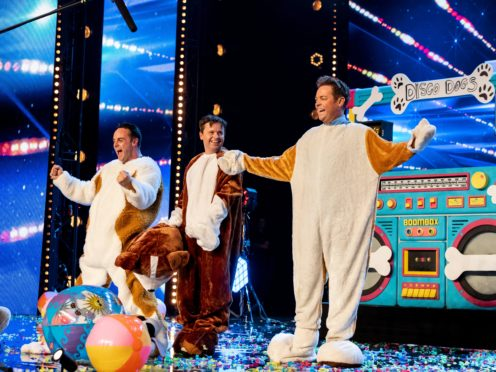 Ant and Dec secretly audition for Britain's Got Talent dressed up as dogs (Dymond/Thames/Syco/REX/Shutterstock)