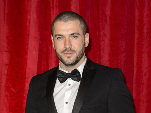 Shayne Ward won a British Soap Award for his powerful performance on Coronation Street (Matt Crossick/PA)