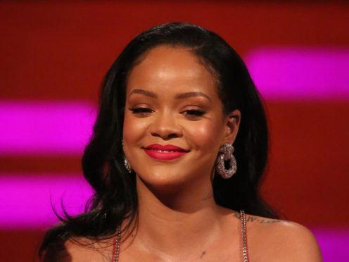 Pop star Rihanna is the richest female musician in the world, according to Forbes (PA Images on behalf of So TV)
