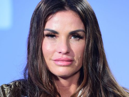 Katie Price will take part in Celebs Go Dating with boyfriend Kris Boyson (Ian West/PA)