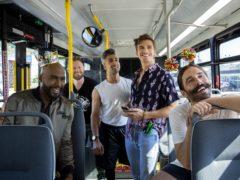 The hosts of Queer Eye, Antoni Porowski, Karamo Brown, Jonathan Van Ness, Tan France and Bobby Berk (Netflix/PA)