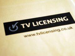 TV Licensing (Andy Hepburn/PA)