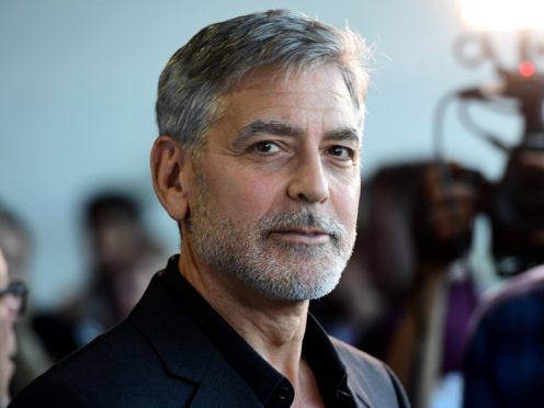 George Clooney has starred in Catch 22 (Ian West/PA)