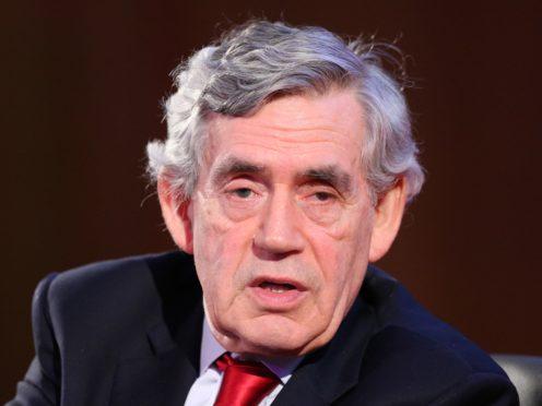 Gordon Brown previously wrote to the BBC. (Jonathan Brady/PA)
