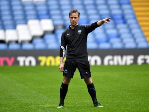 Soccer Aid World Eleven's James McAvoy (Dominic Lipinski/PA)