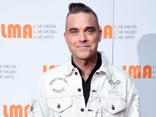 Robbie Williams (Ian West/PA)