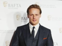 Sam Heughan said he felt wonderful to receive the honorary doctorate for his acting and charitable work (Jane Barlow/PA)