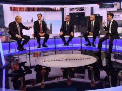The debate (Jeff Overs/BBC)