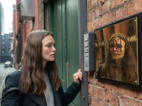 Keira Knightley in the first trailer for Official Secrets (eOne)